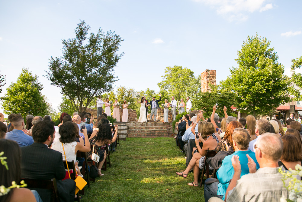 Best Virginia Winery Wedding Venues | Hillwood Ruins at the Winery at Bull Run | Bealeton, VA Wedding Photographer | Megan Rei Photography