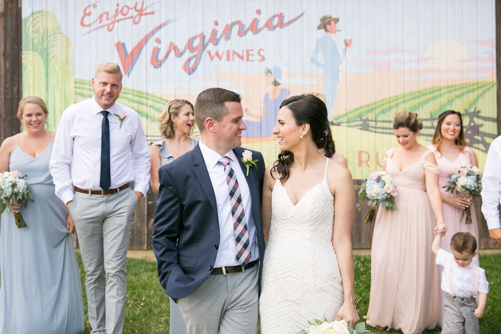Summer wedding pictures in Centreville, VA | Northern Virginia Winery Wedding Venue
