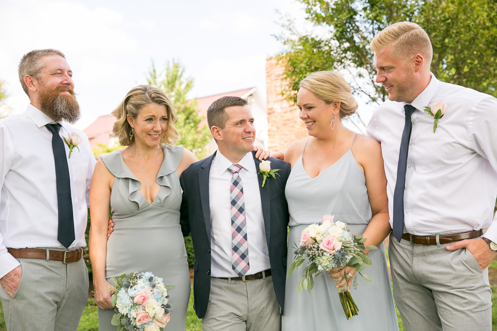 Candid wedding photos at The Winery at Bull Run | Summer wedding