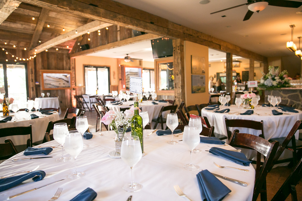 Wedding reception at The Winery at Bull Run | Catering by RSVP Catering in Fairfax, VA