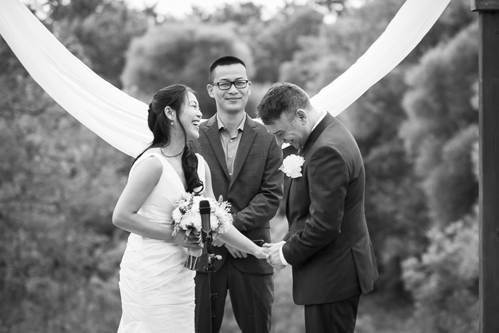 So happy to be husband and wife | Documentary Wedding Photographer | Candid Photographer in Northern Virginia
