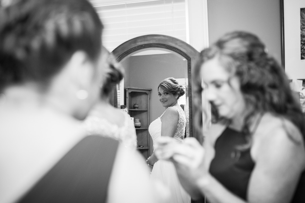 Documentary wedding photography in Culpeper, Virginia