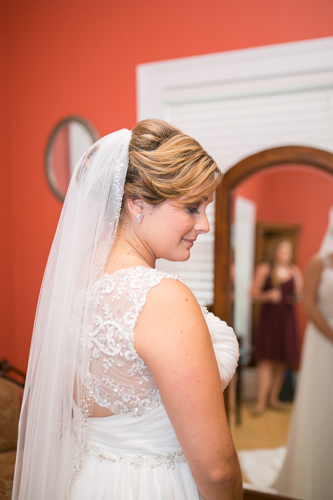 Bridal portrait at Mountain Run Winery | NorthernVirginia Wedding Photographer | Megan Rei Photography