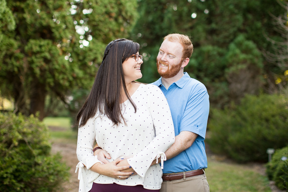 Colorful engagement photographer in Northern Virginia