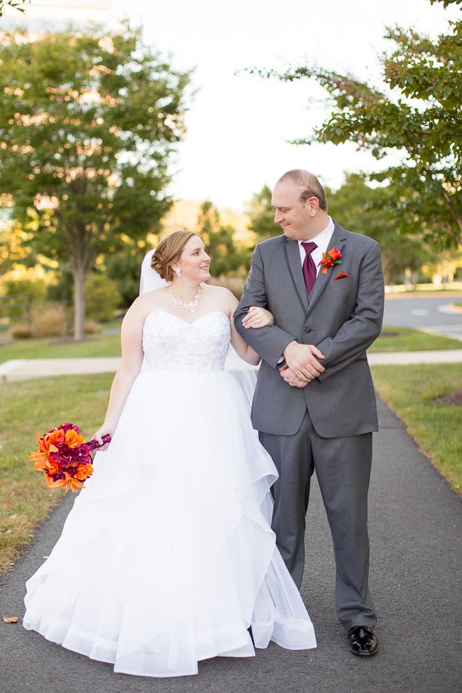 Wedding portraits at the Westin Washington Dulles wedding venue | Northern Virginia Photographer | Megan Rei Photography