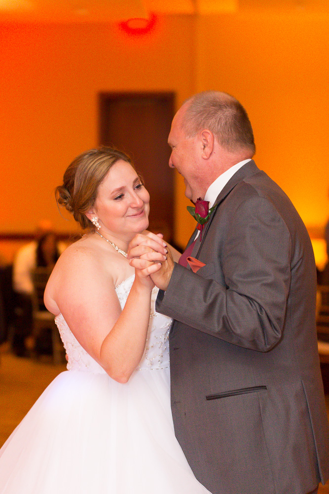 Father-daughter dance at the Westin in Herndon, Virginia