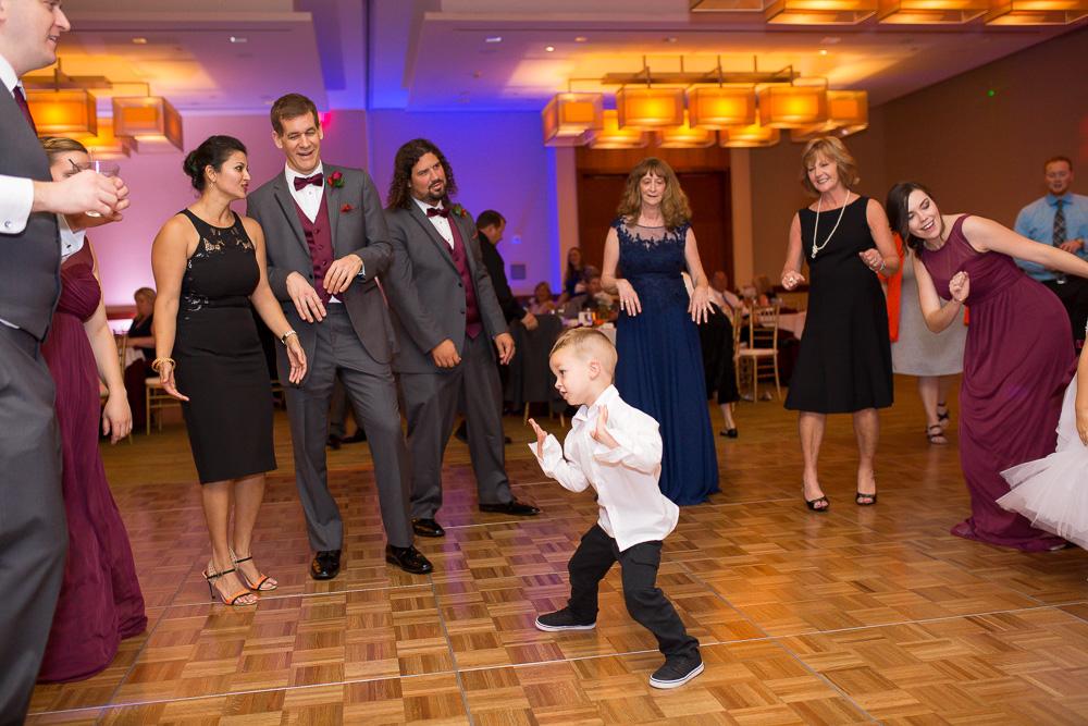 Fun dancing photos at wedding in Herndon, Virginia | Northern Virginia Candid Wedding Photos