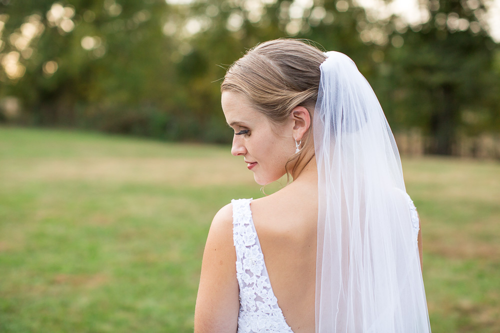 Bridal portrait in Culpeper, Virginia | Vineyard Wedding Venues in Northern Virginia