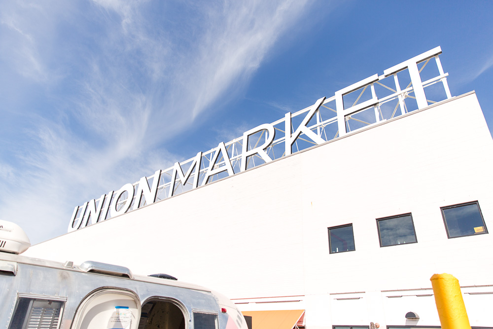 Union Market Roof Sign