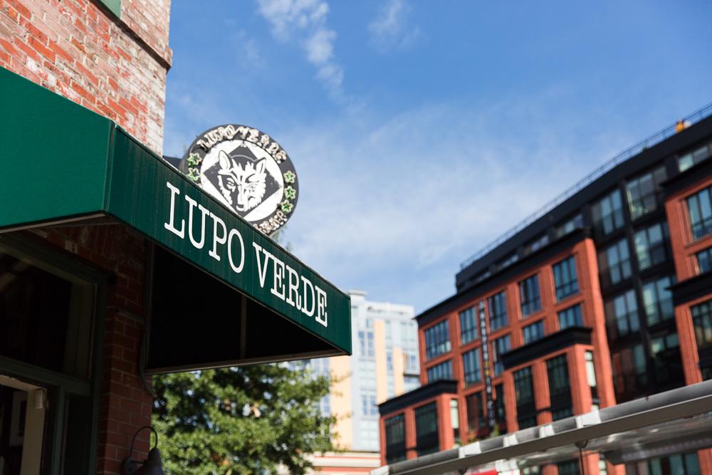 Lupo Verde entrance