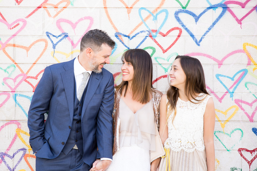Union Market DC heart wall mural | DC Wedding Photographer | Megan Rei Photography