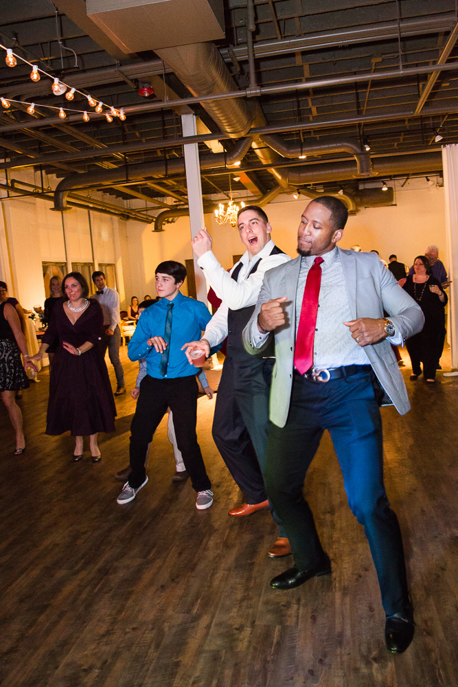 Candid dance floor pictures at The Arbor Loft | Rochester, NY Wedding Photographer | Megan Rei Photography