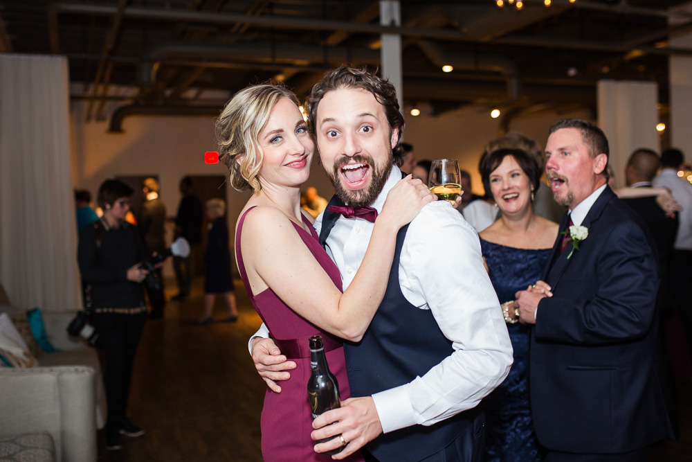Wedding candids | Fun dance floor photos | Rochester, NY Wedding