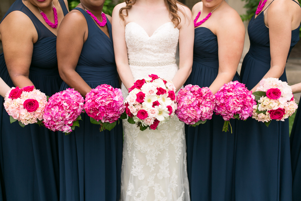Bridal party flowers by Wegmans | Rochester, NY