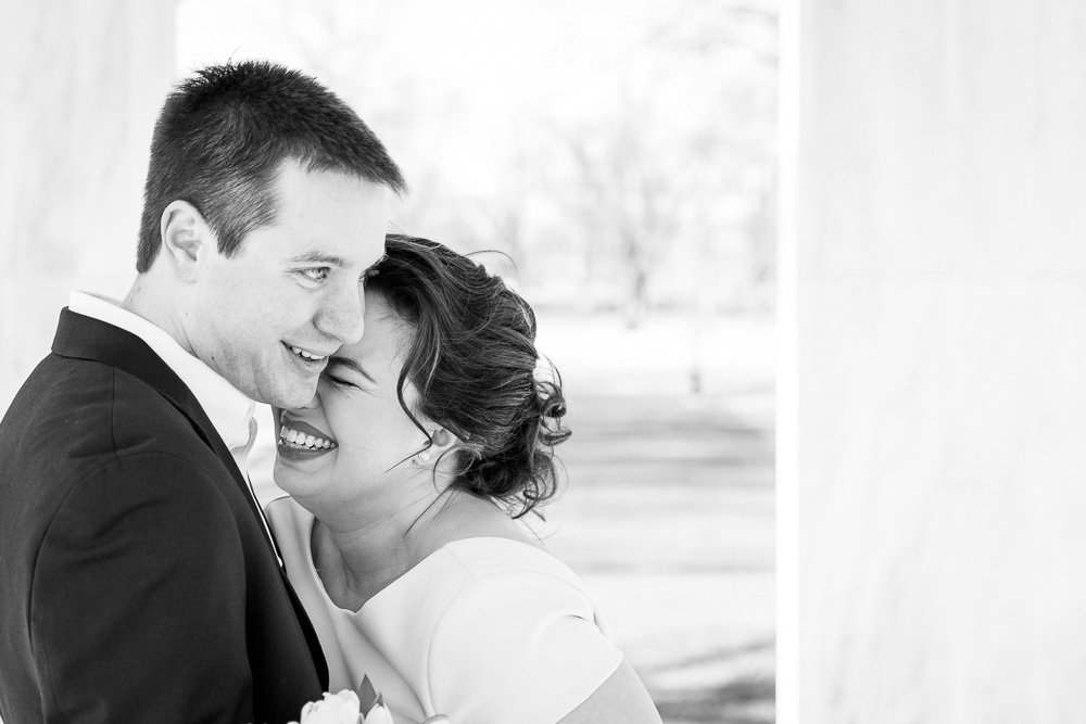 Laughter | DC Documentary Wedding Photographer | DC Candid Wedding Photography