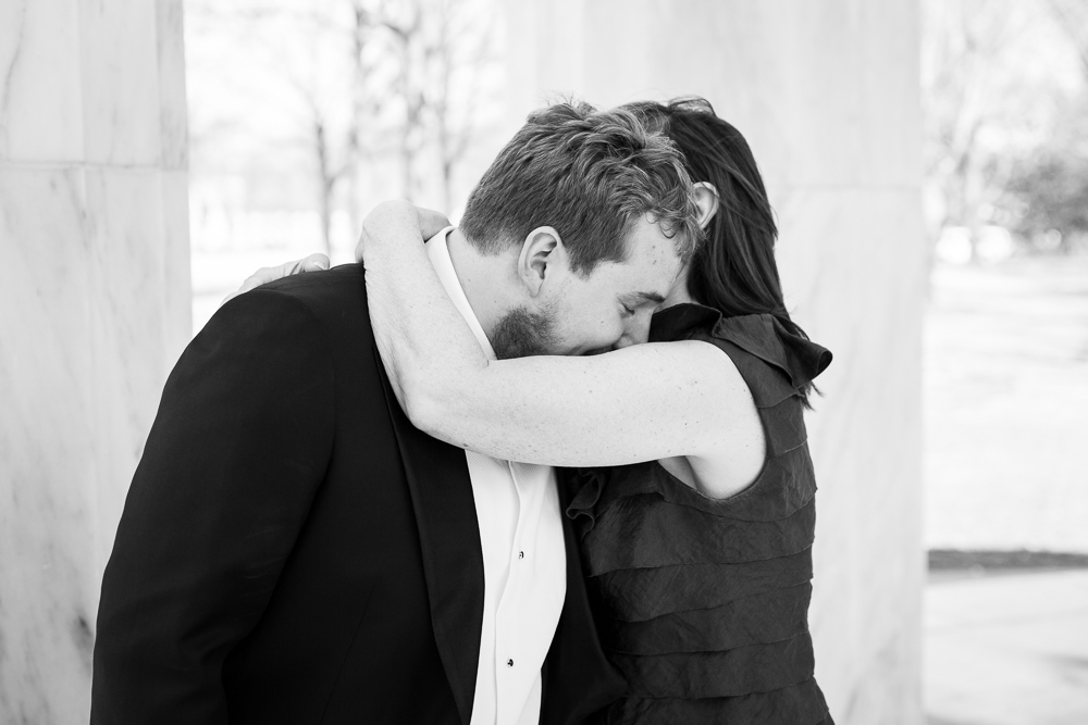 Emotional groom with his mother | Documentary wedding photographer in Washington DC