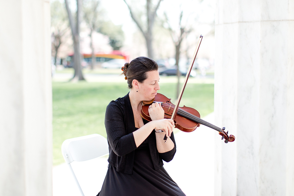 Wedding music provided by violinist Brooksley Bishop | Best DC and Northern Virginia Violinists