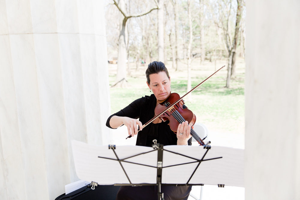 Wedding violinist Brooksley Bishop | Best DC Wedding Musicians