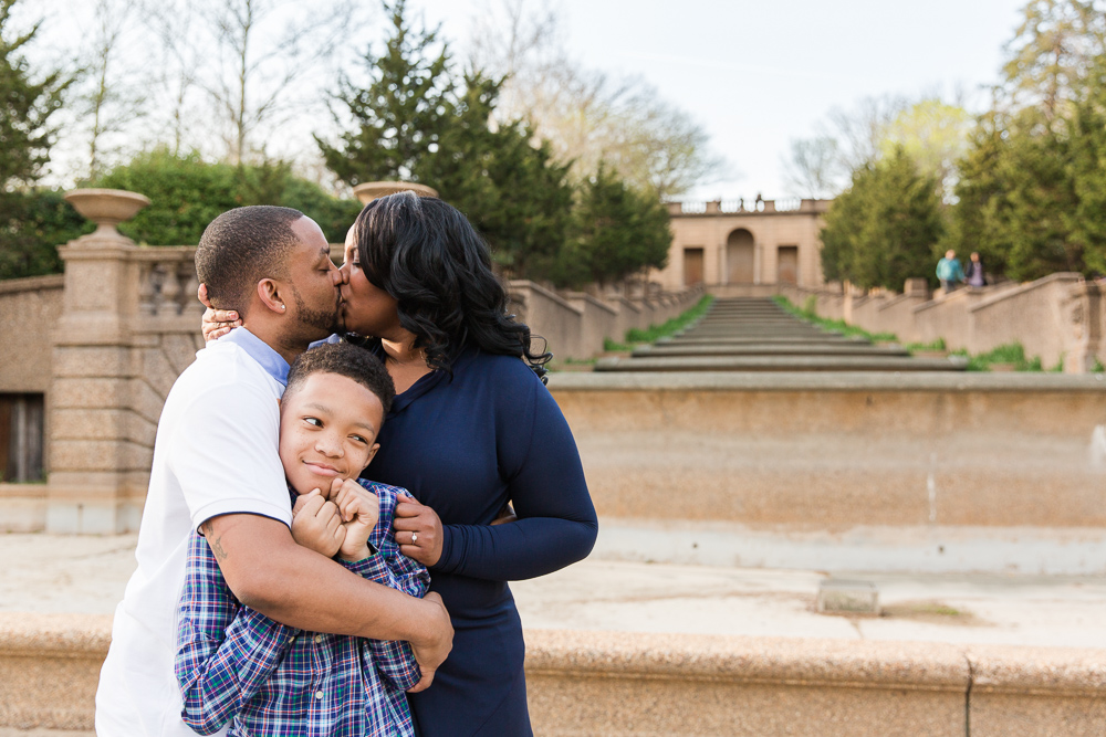 Washington DC Surprise Proposal Photography at Meridian Hill Park