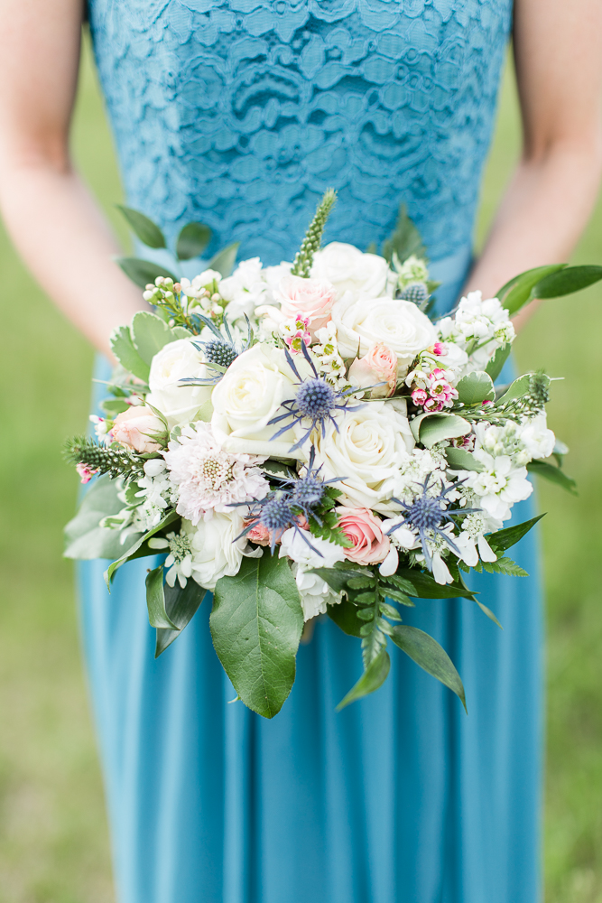 Bridesmaid bouquet from Foxtail Cottage Floral | Best Crozet Virginia Florist