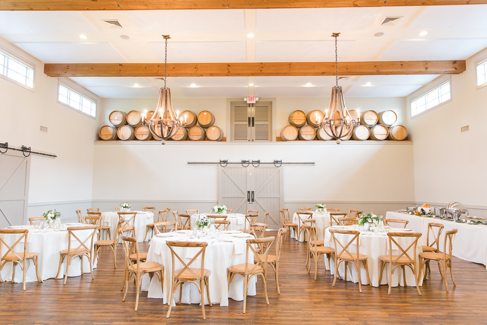 The Carriage House at King Family Vineyards | Best Wedding Reception Venues in Charlottesville, VA