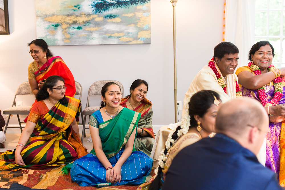 Candid photo of Indian wedding in Northern Virginia