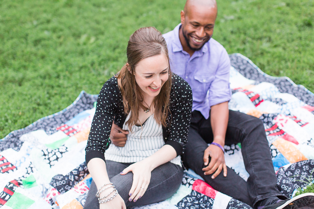 Candid engagement session in Washington DC | Lincoln Park