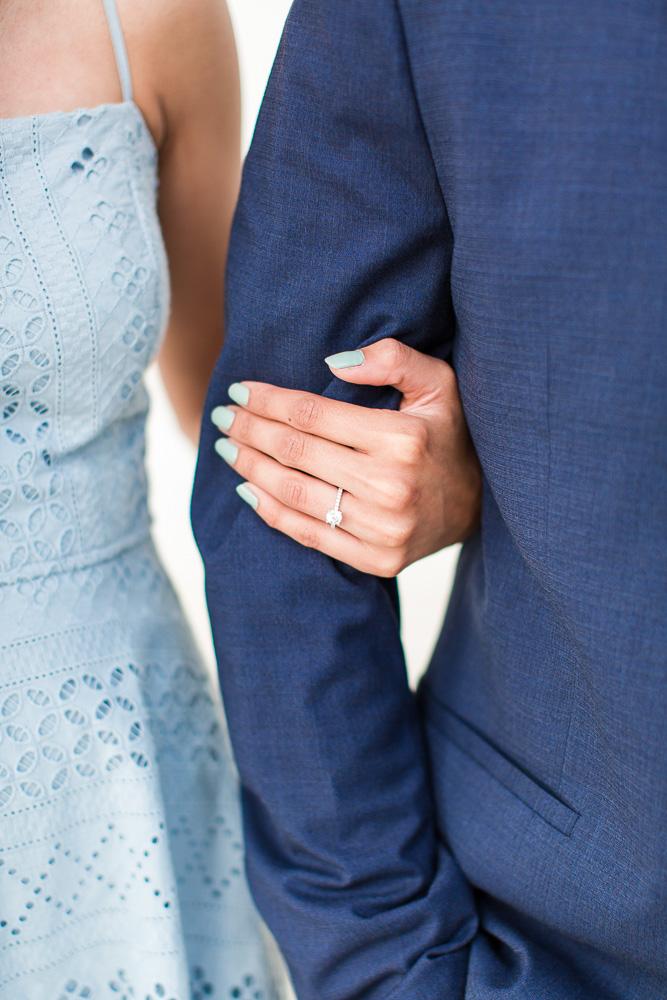 Beautiful engagement ring | Washington DC Proposal Photographer