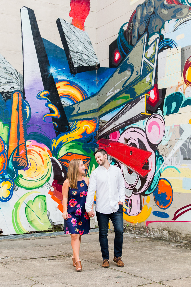 Best Richmond Virginia engagement photo locations | Richmond Canal Walk