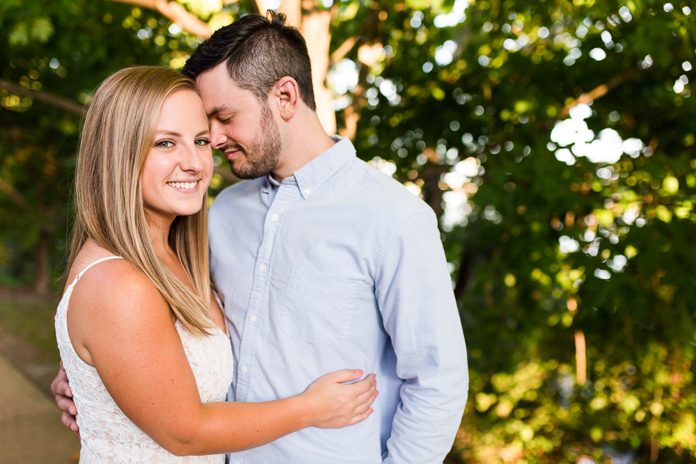 Summer engagement pictures in Richmond, Virginia