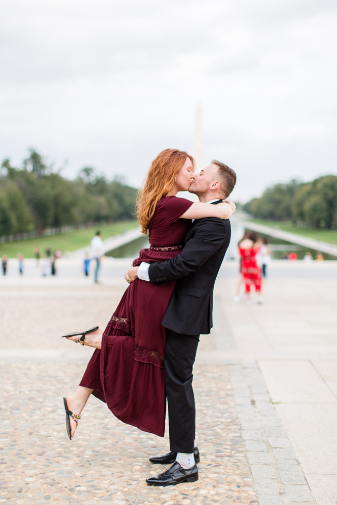 Best engagement pictures in Washington DC | Megan Rei Photography