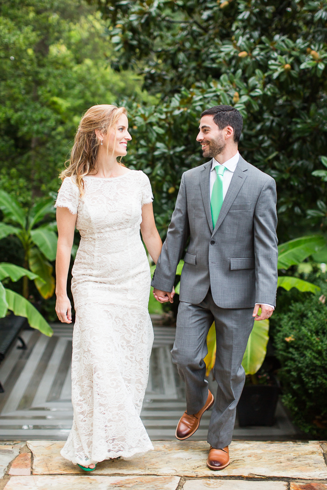Green wedding in Leesburg, Virginia