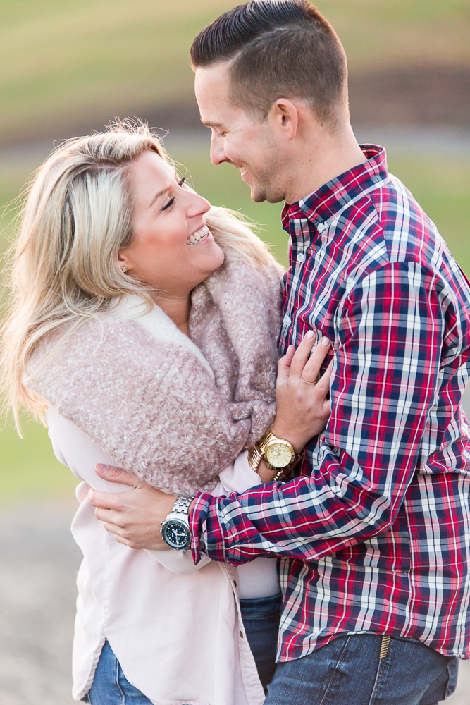 Candid engagement pictures at Stone Tower Winery | Candid Leesburg Photographer