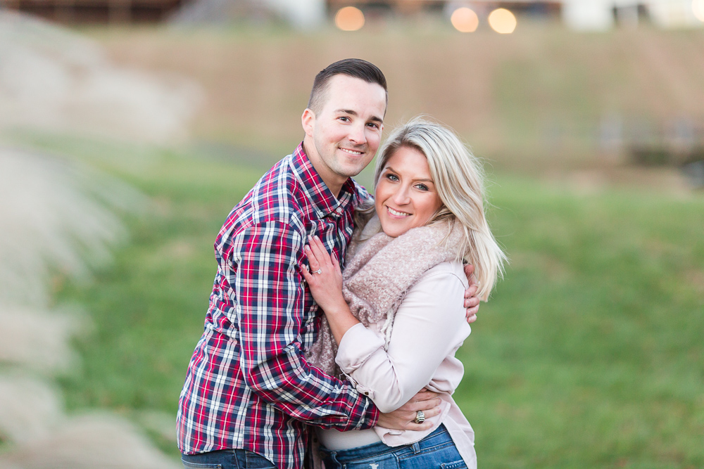 Engagement photography at Stone Tower Winery | Leesburg wedding and engagement photographer