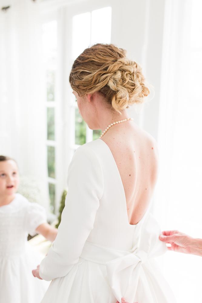 Bridal hair by Salon Emage Day Spa in Warrenton, Virginia