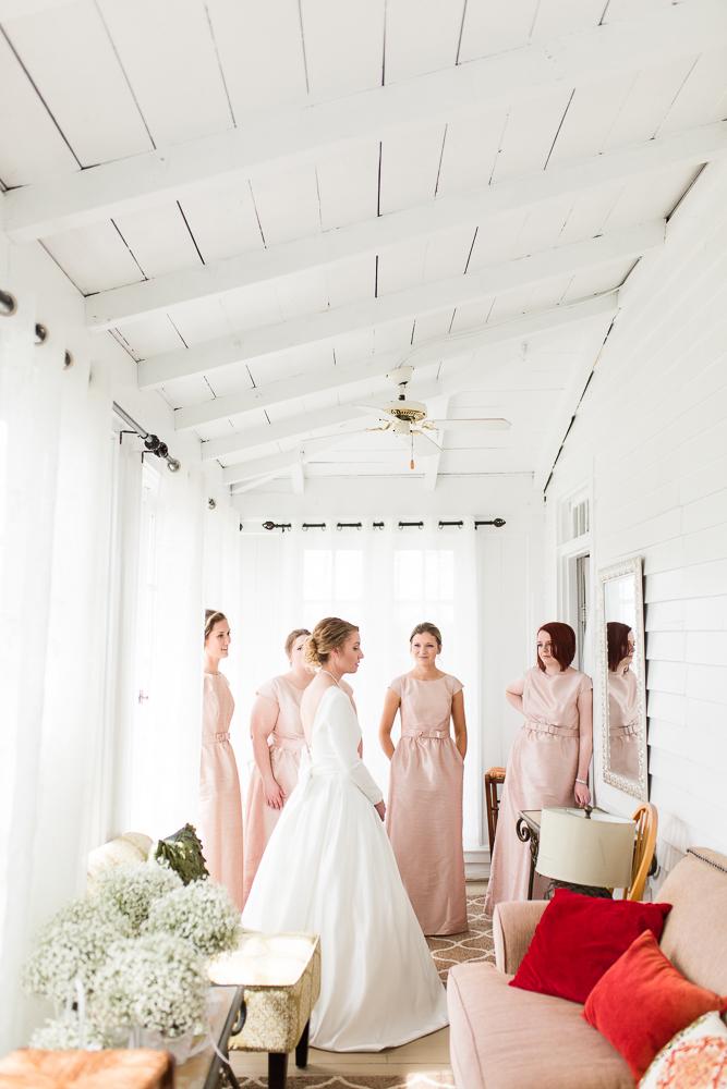 Bridal suite at the Black Horse Inn in Warrenton, Virginia