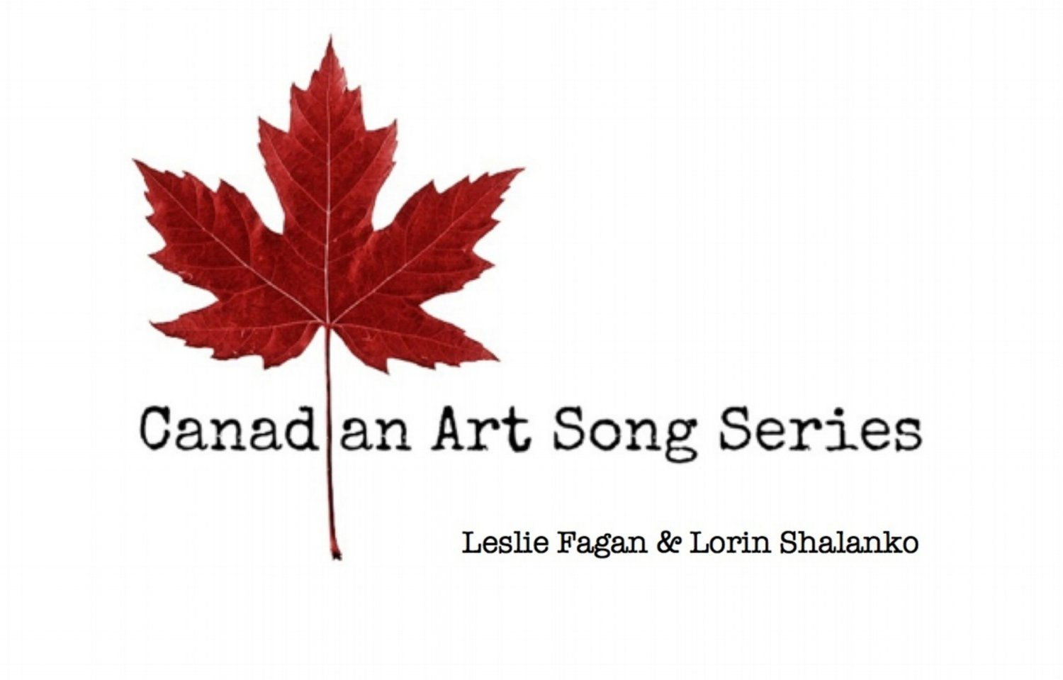 Canadian Art Song Series