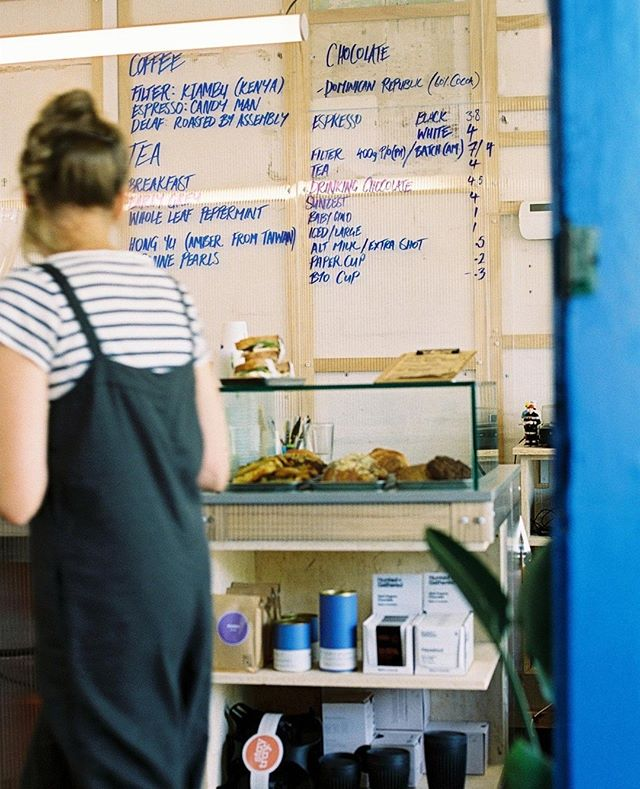 Local coffee trap on film ☕