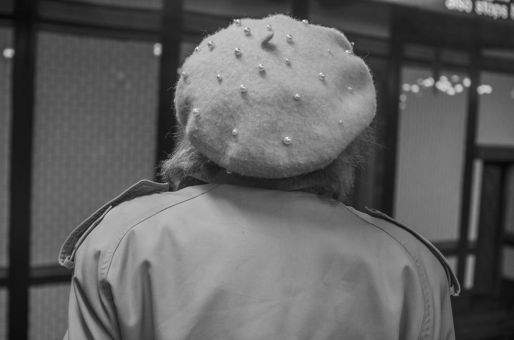 pearl beret