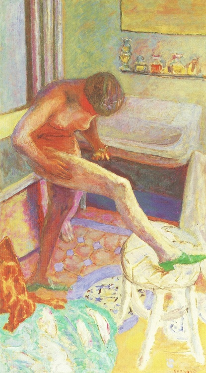 Bonnard, Nude with Green Shoe, 1927