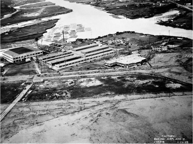 Boeing Plant 1 - Circa 1929