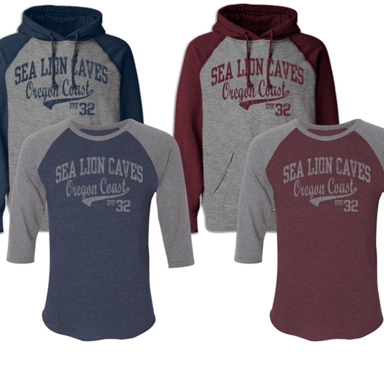 Graduate Date - Sea Lion Caves - Tri Blend 3-4 Sleeve & Color Block Hoods G102DATE-LD.jpeg