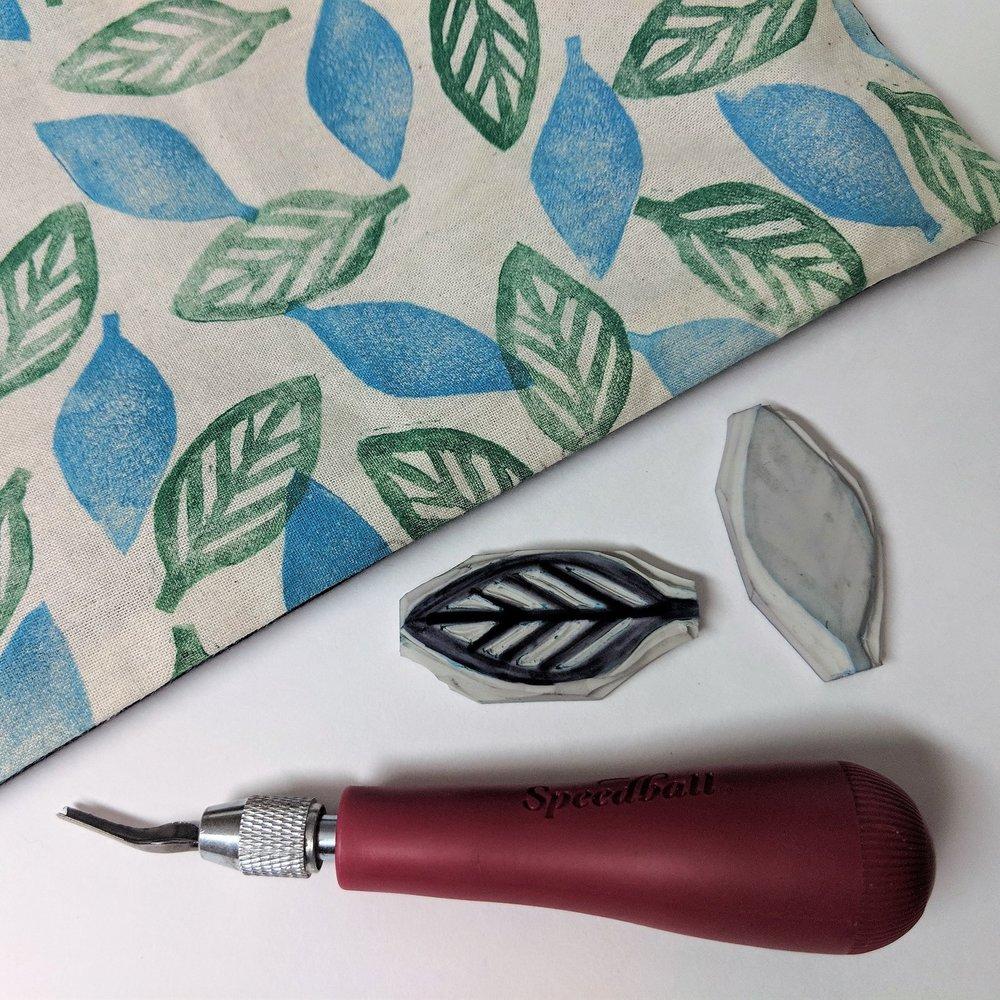 October 27 : Linoleum Stamp Carving & Printing
