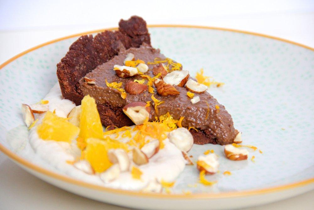 Chocolate Hazelnutbutter Tart