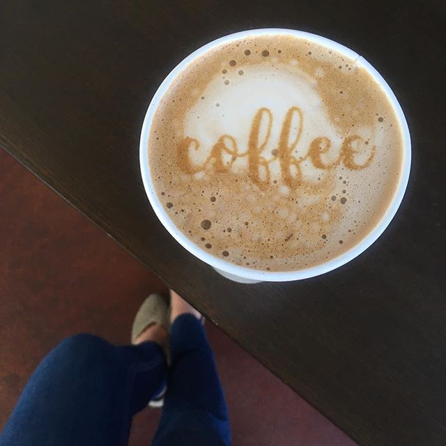 But first... #☕️ . . . #thepropercup #butfirstcoffee #coffee #latte #latteart #coffeeart #almondmilklatte #coffeeplease #dtsj