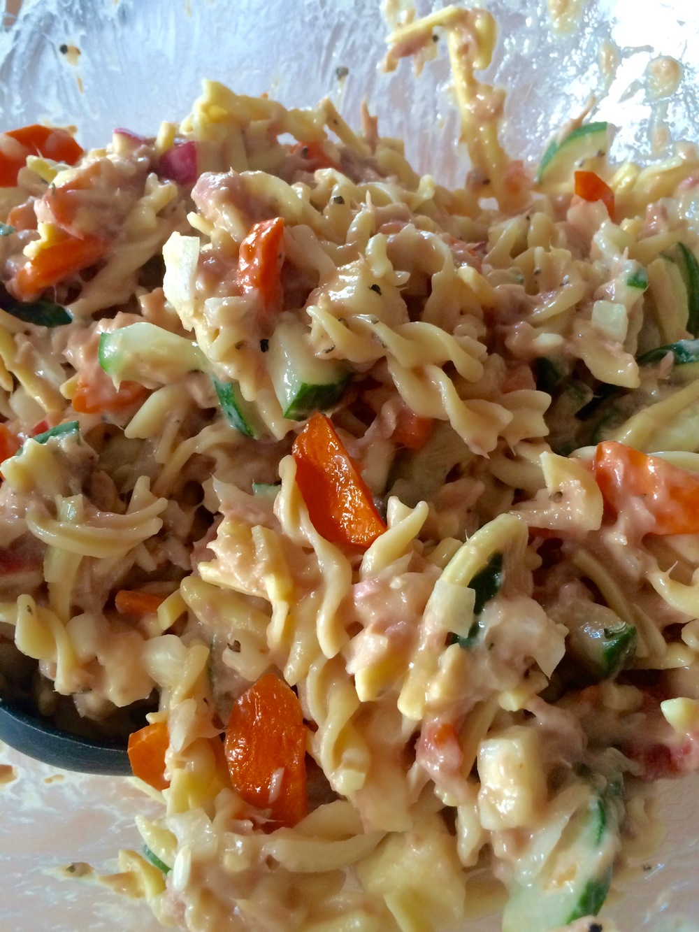 A close up of our Tuna Salad.