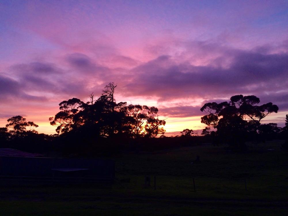 Sunrise, Kangaroo Island