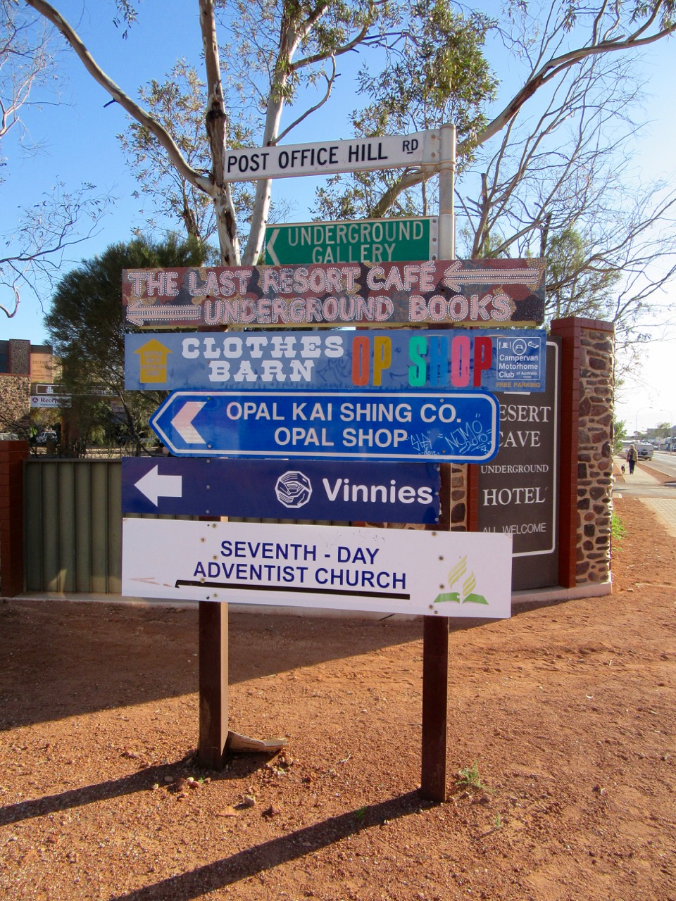 Funky Signs in Coober Peddy
