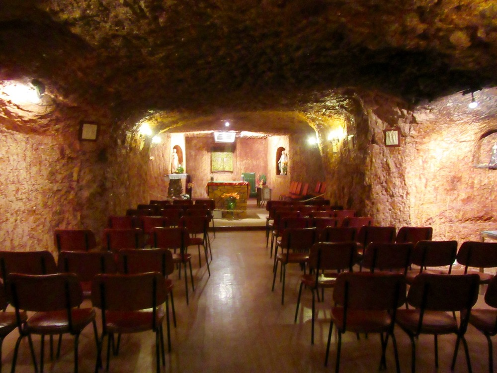 Underground Church in Coober Peddy