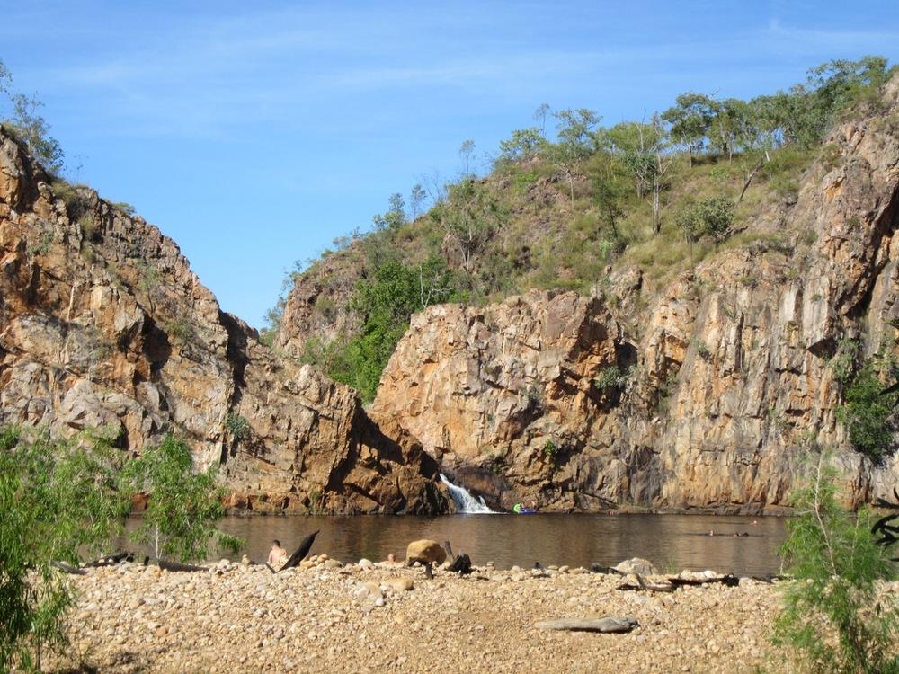 Edith Falls near Katherine, NT